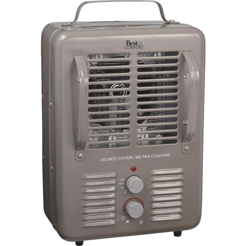 Best Comfort Commercial Milkhouse Heater Gray, 12.5A