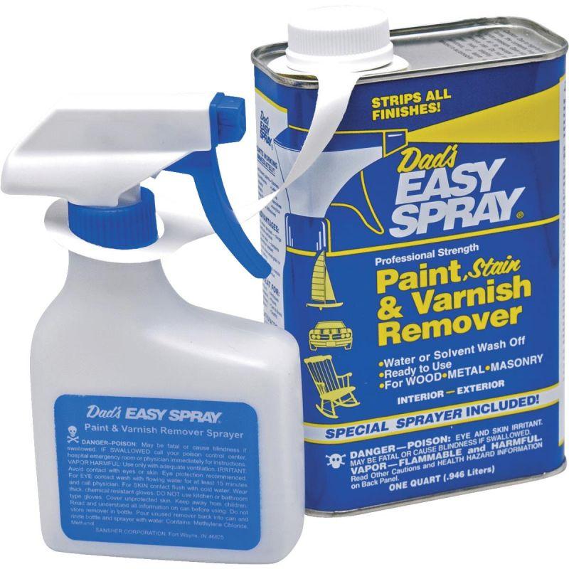 Dad's Easy Spray Stain, Pant & Varnish Stripper Quart W