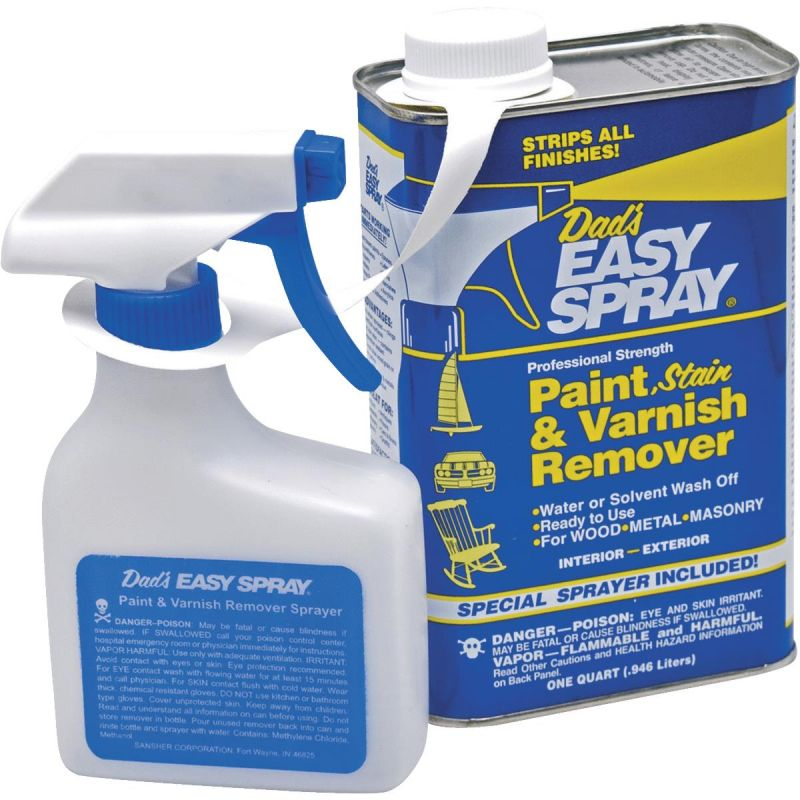 Dad's Easy Spray Stain, Pant & Varnish Stripper Quart W