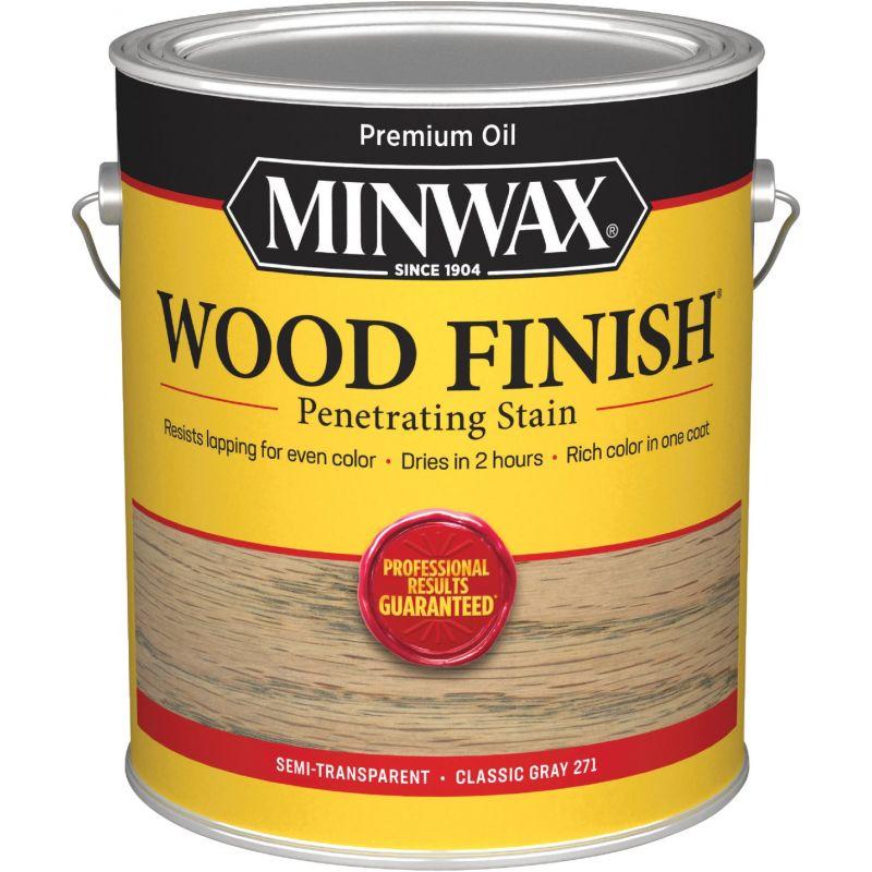 Minwax Wood Finish Penetrating Stain 1 Gal., Classic Gray