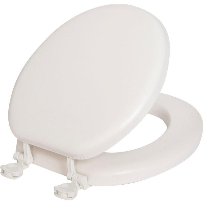 Mayfair Round Premium Soft Toilet Seat White, Round