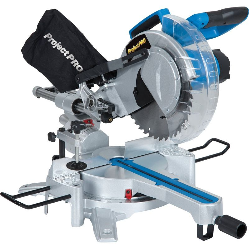 Project Pro 10 In. Sliding Compound Miter Saw 15A