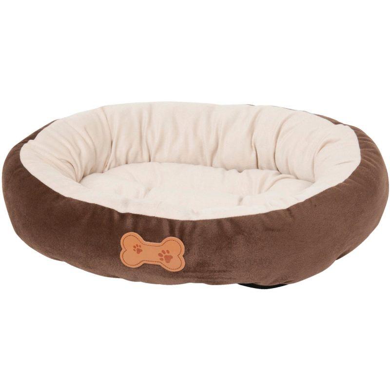 Petmate Aspen Pet Oval Dog Bed Chocolate Brown