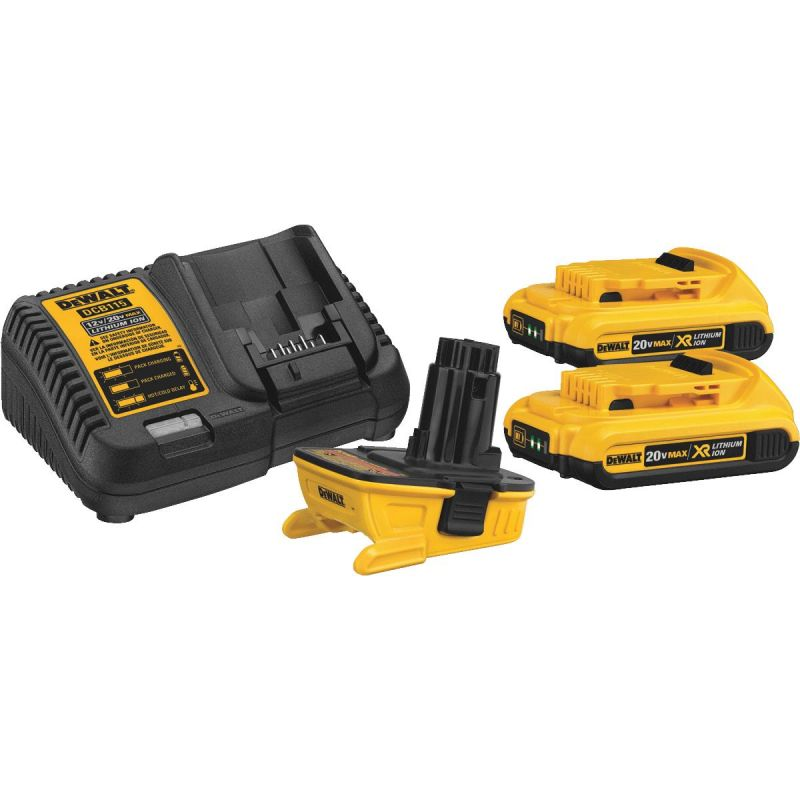 DeWalt 20V MAX Battery Adapter Combo Kit