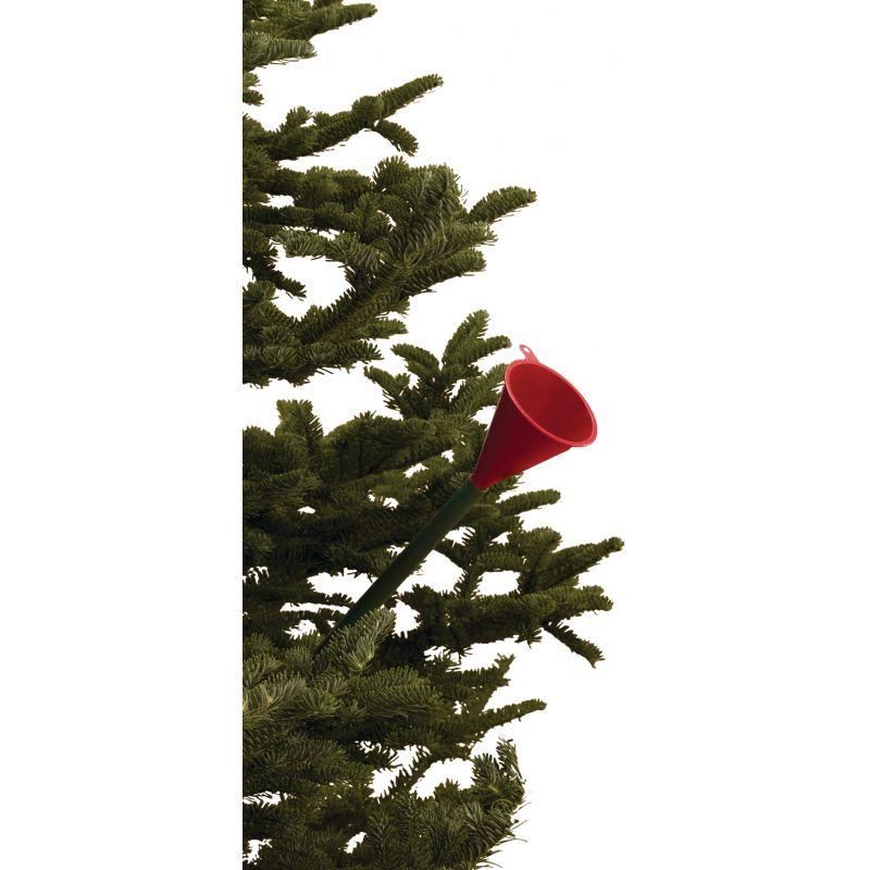 HandiThings Tree Funnel 3-1/2 In. W. X 40 In. L. X 3-1/2 In. D., Red & Green (Pack of 12)