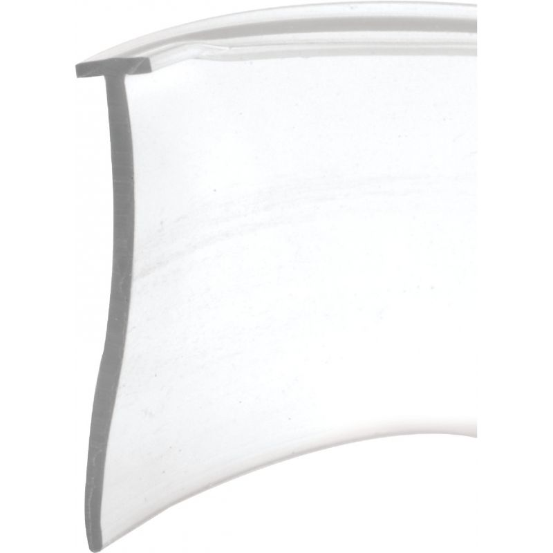 Prime-Line Tee-Shaped Shower Door Sweep 1 In. W. X 36 In. L., Clear