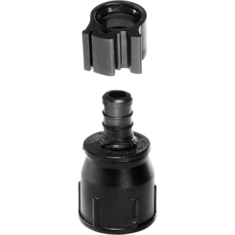 Flair-it Plastic Compression PEXLock Ballcock Adapter 1/2 In. X 7/8 In.