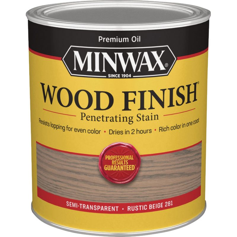 Minwax Wood Finish Penetrating Stain 1 Qt., Rustic Beige