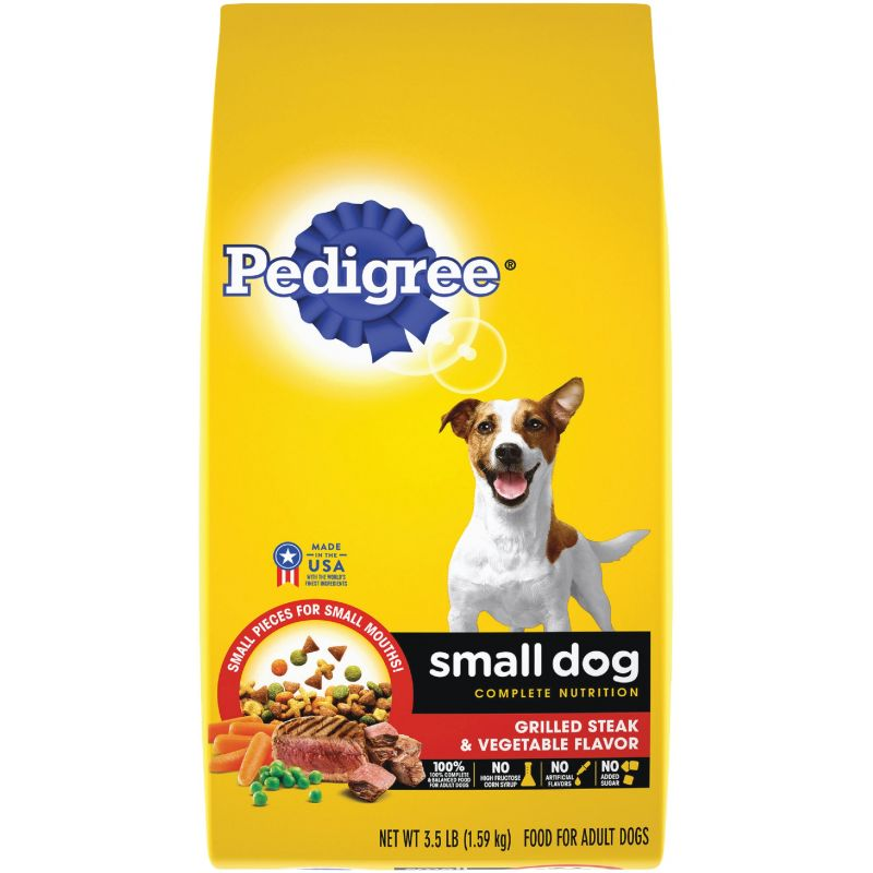 Pedigree Small Dog Complete Nutrition Dry Dog Food 3.5 Lb.