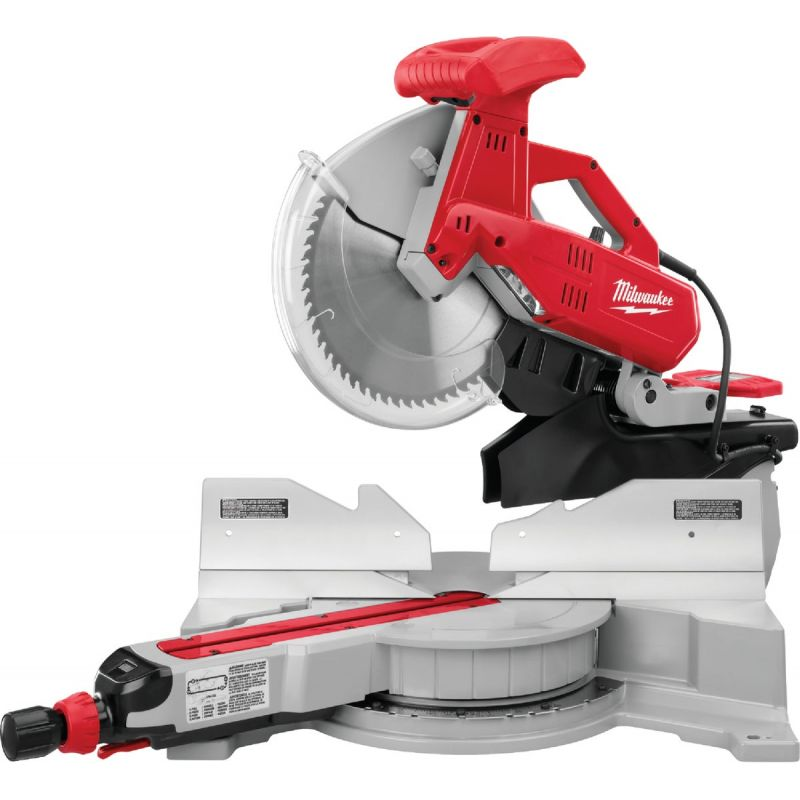 Milwaukee 12 In. Dual-Bevel Sliding Compound Miter Saw 15A