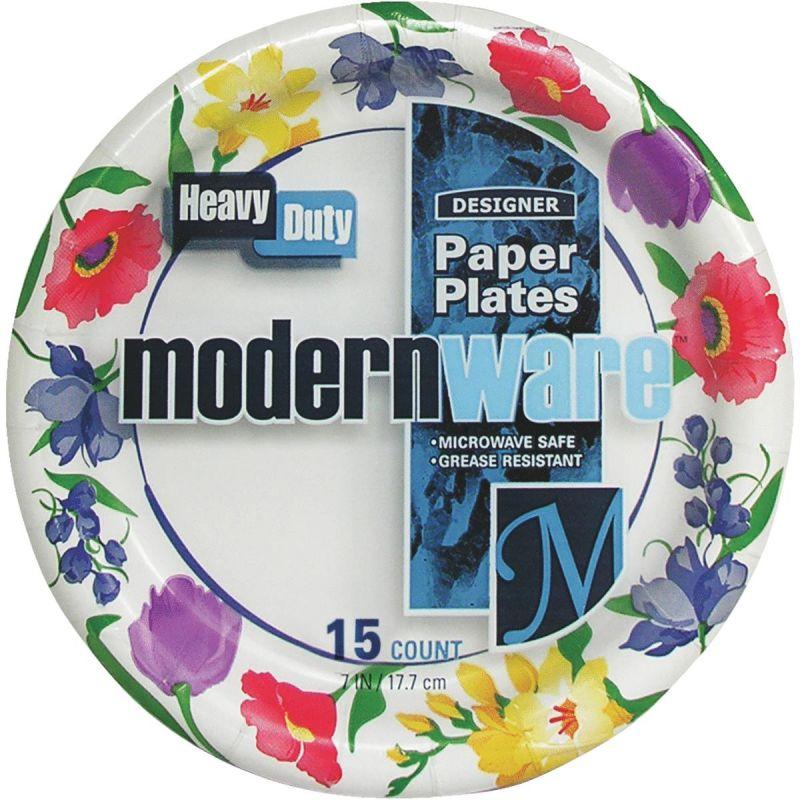 "Modern Ware 7"" Paper Plate Multi"