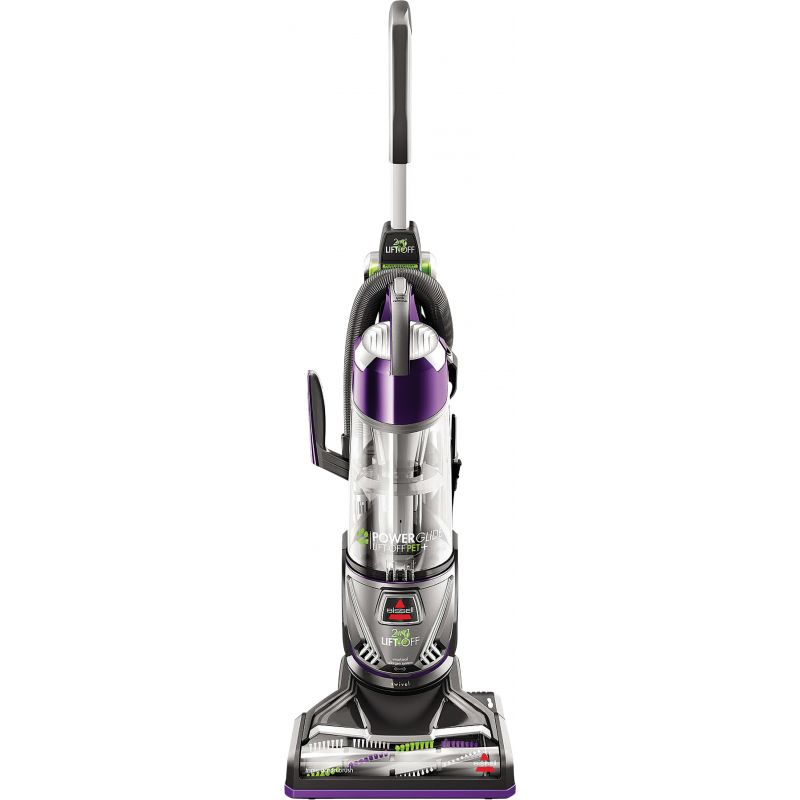 Bissell PowerGlide Lift-Off Pet Plus Upright Vacuum Cleaner Purple