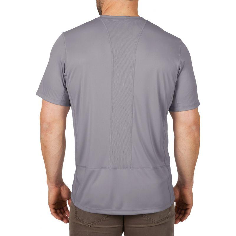 Milwaukee Workskin Lightweight Performance T-Shirt 2XL, Gray, Short Sleeve