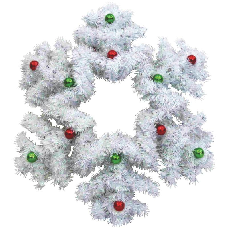 F C Young Snowflake Holiday Decoration 18 In. H. (Pack of 6)