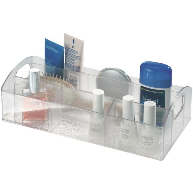 InterDesign Med+ Storage Tray Organizer Clear