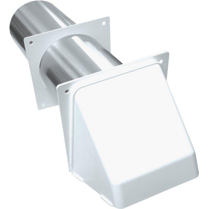 Lambro Preferred Dryer Vent Hood 4 In., White