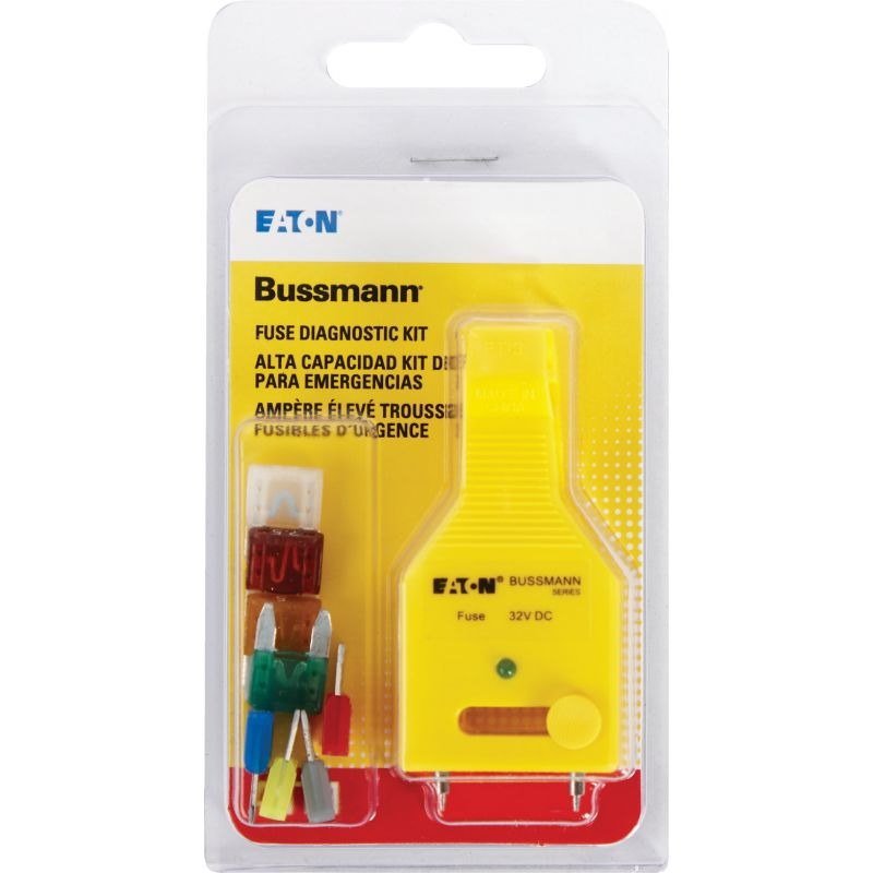 Bussmann ATM Fuse Assortment with Diagnostic Tester