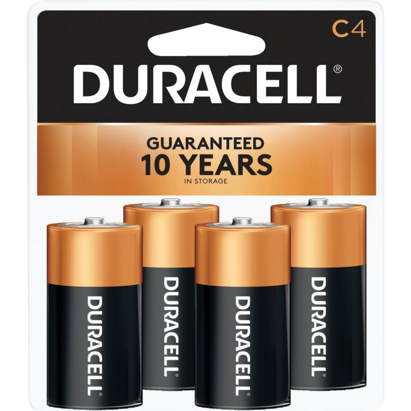Duracell CopperTop C Alkaline Battery 7000 MAh