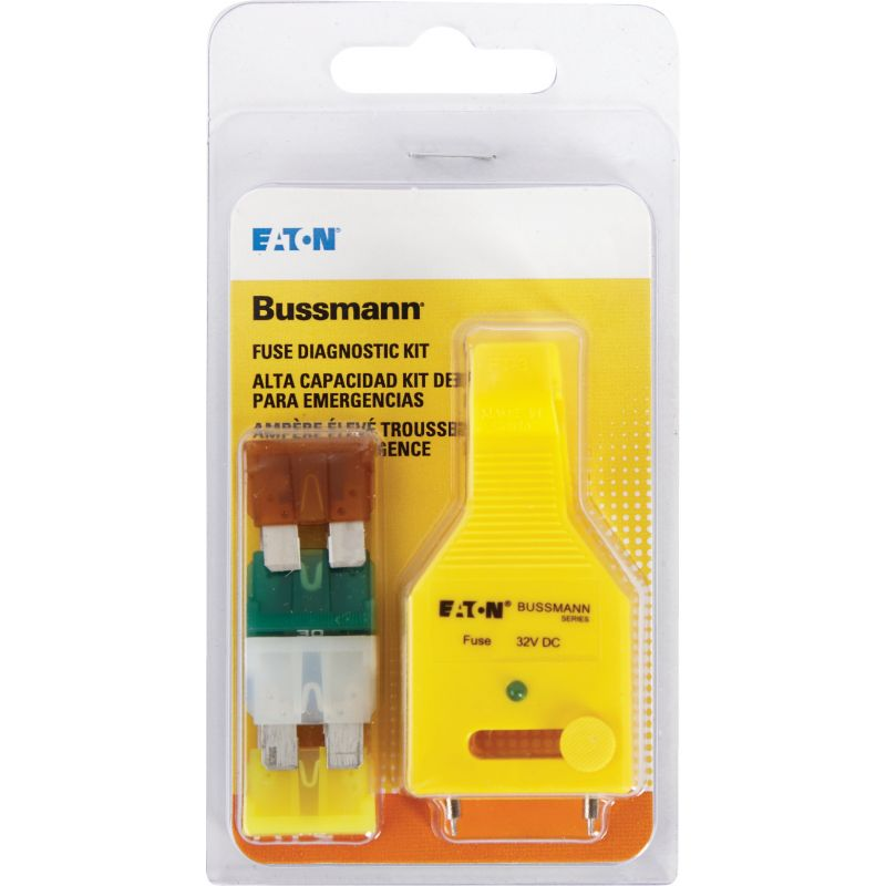 Bussmann ATC Fuse Assortment with Diagnostic Tester
