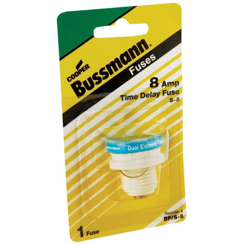Bussmann S Plug Fuse 10kA, 8A