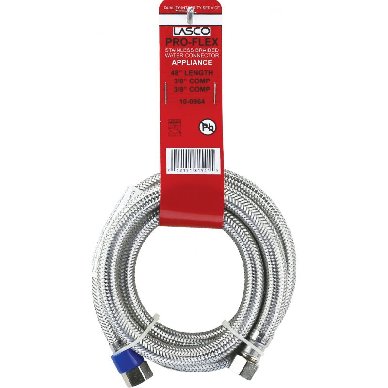 Lasco Stainless Steel Appliance Water Connector