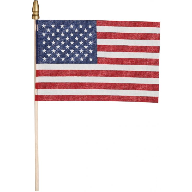 Valley Forge Stick American Flag (Pack of 48)