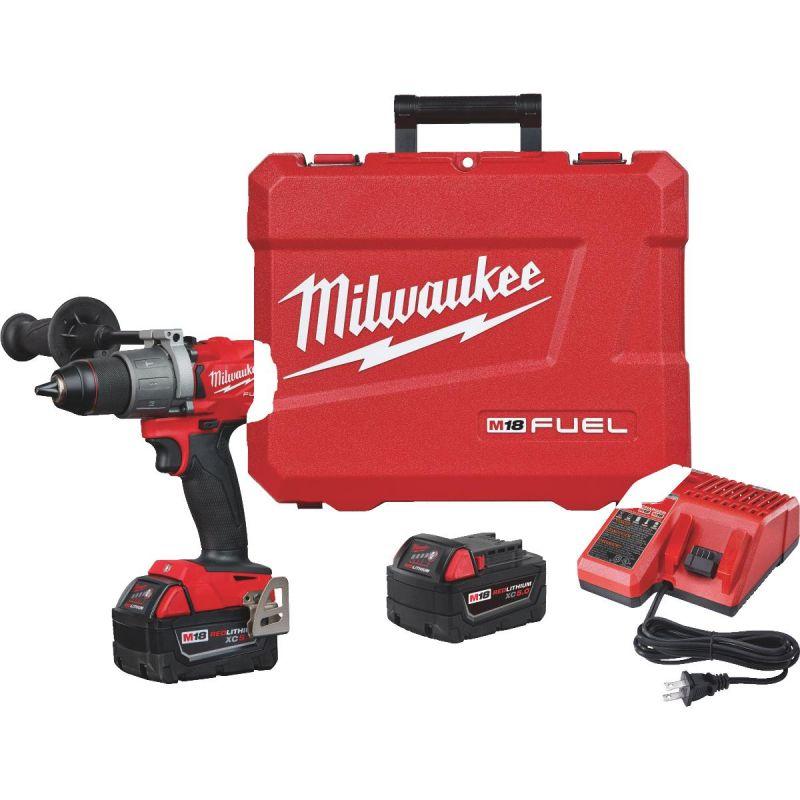 Milwaukee M18 FUEL XC Lithium-Ion Brushless Cordless Hammer Drill Kit