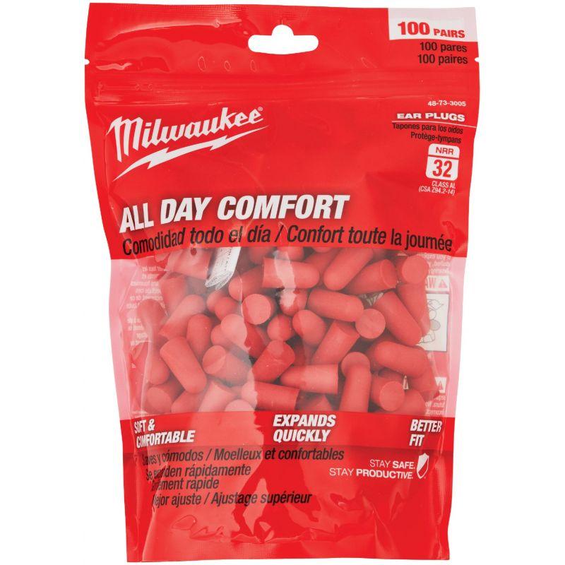 Milwaukee Foam Ear Plugs