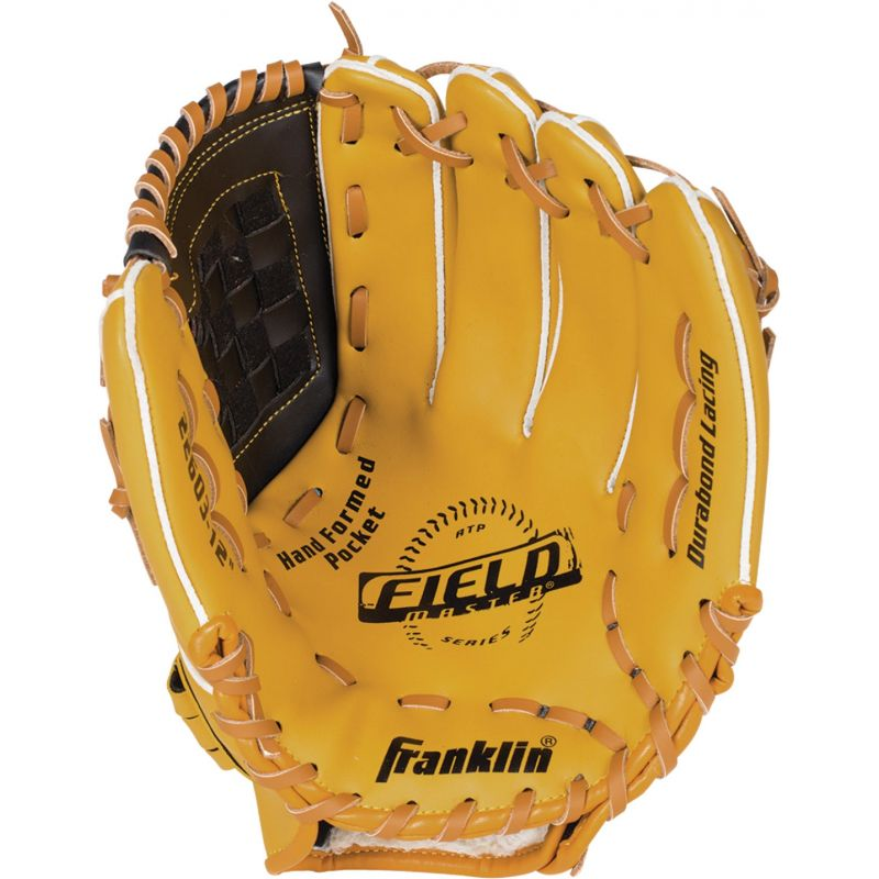 Franklin Field Master Series Baseball Glove 12 In., Tan/Brown
