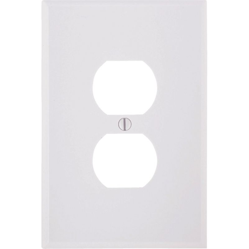 Leviton Oversized Outlet Wall Plate White