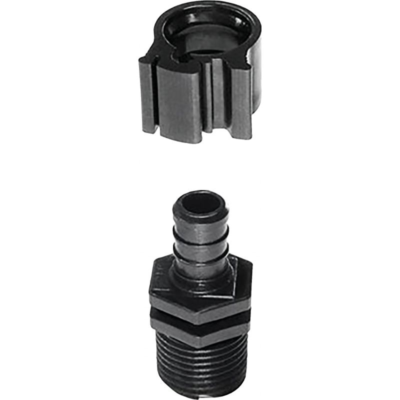 Flair-it Plastic Compression PEXLock Male Adapter 1/2 In.