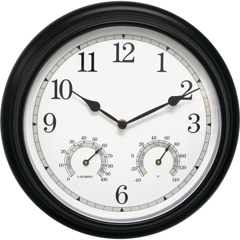 Acurite Wall Clock/Thermometer/Hygrometer