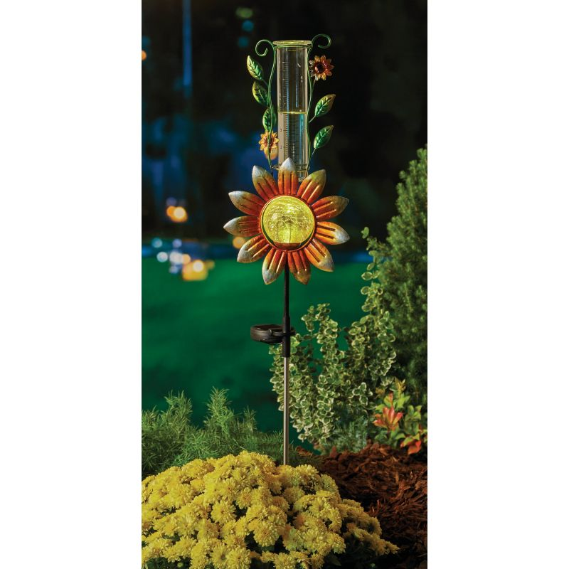 Gerson Spring GIL Flower Solar Stake Light Assorted (Pack of 6)