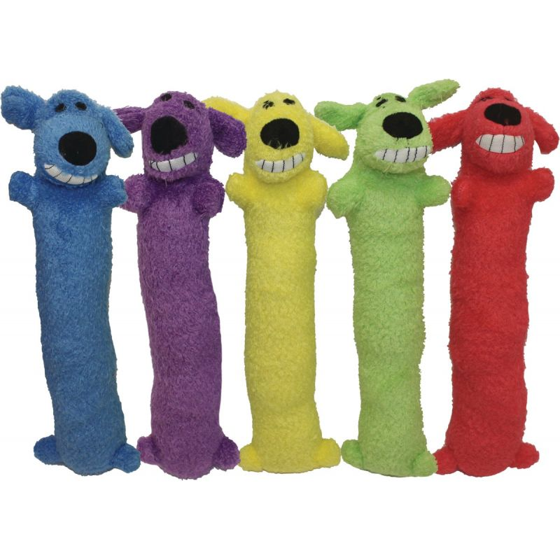 Multipet Loofa Dog Toy 18 In., Assorted