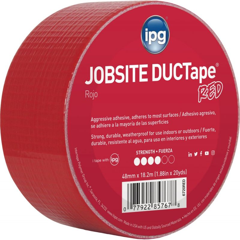 Intertape AC20 DUCTape General Purpose Duct Tape Red
