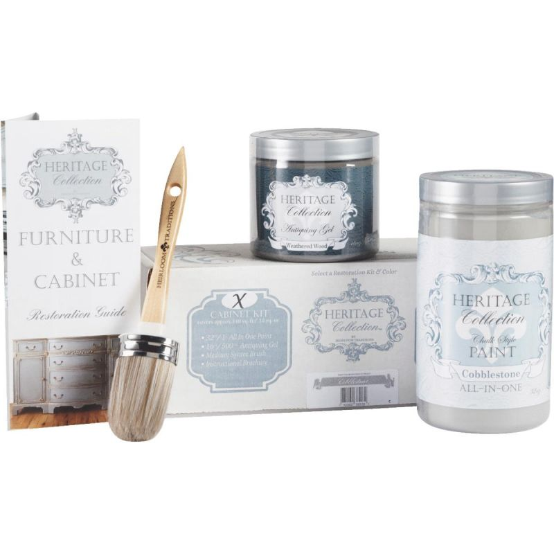 Chalk Paint Cabinet Restoration Kit Cobblestone - Gray