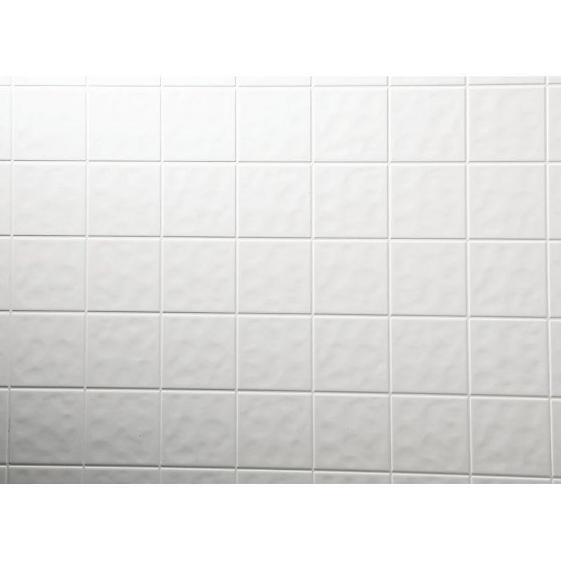 DPI AquaTile White Tileboard Wall Tile 4 Ft. X 8 Ft. X 1/8 In., White