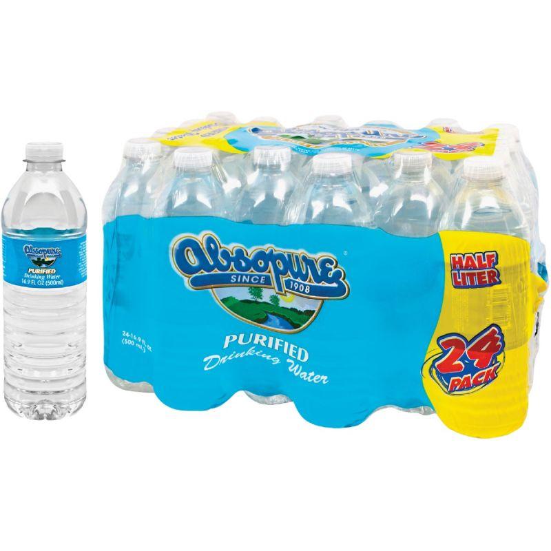 Absopure 0.5 Liter Bottled Purified Water 0.5 Liter