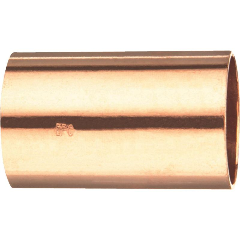 """Elkhart Copper Coupling without Stop 1"""" X 1"""""""
