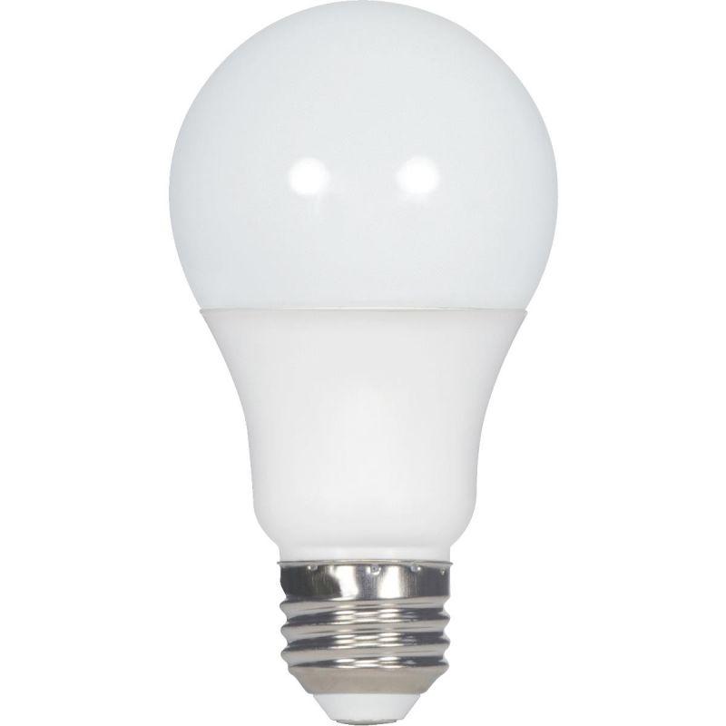 Satco A19 Medium Dimmable LED Light Bulb