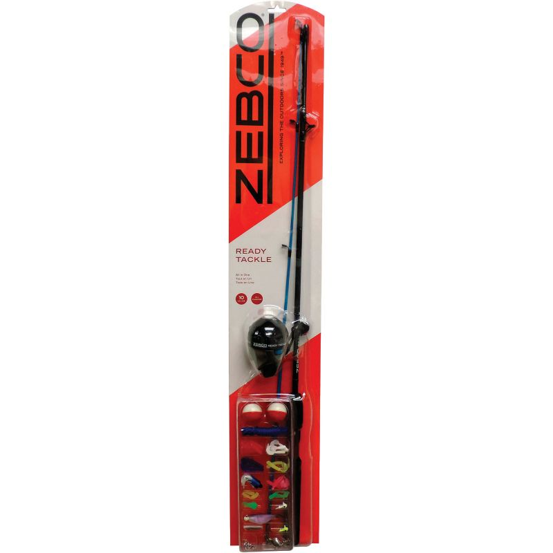 Zebco Fishing Rod & Spincast Reel With Tackle Kit