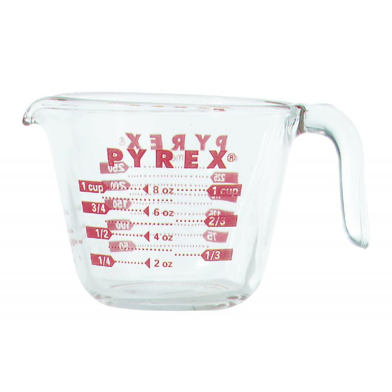 Pyrex Prepware Measuring Cup 1 Cup, Clear (Pack of 6)
