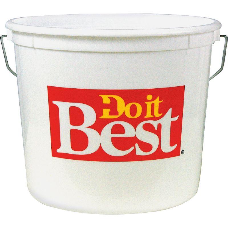 Do it Best Plastic Pail 5 Qt., White