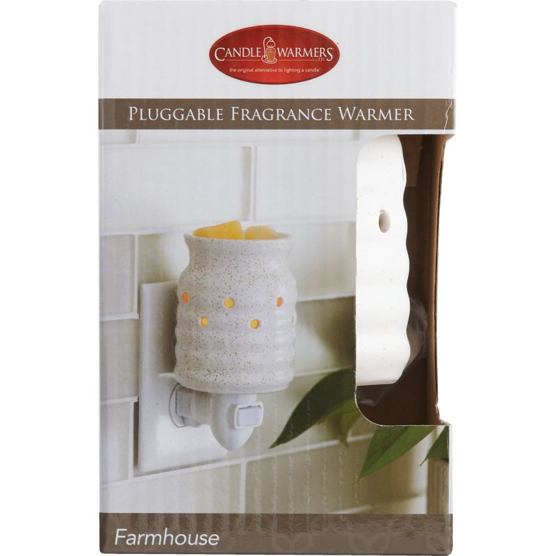 Candle Warmers Pluggable Fragrance Warmer White