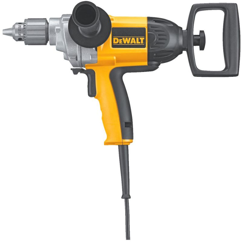 DeWalt 1/2 In. VSR Electric Drill with Spade Handle 1/2 In., 9A