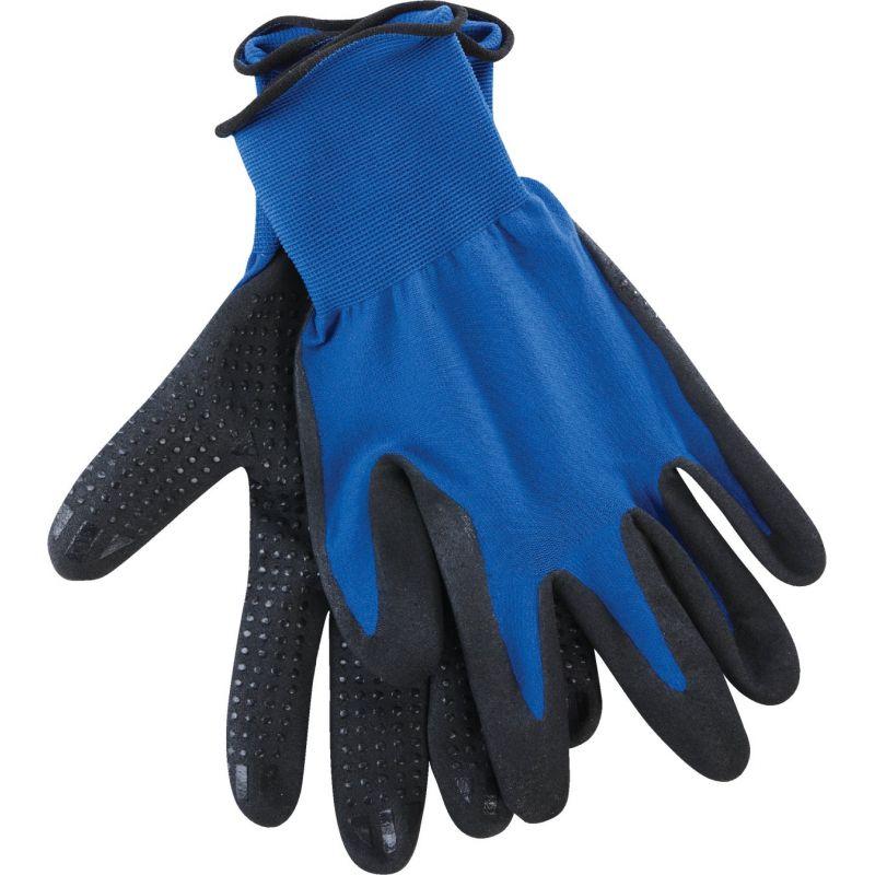Do it Blue Polyurethane Coated Glove M, Blue & Black