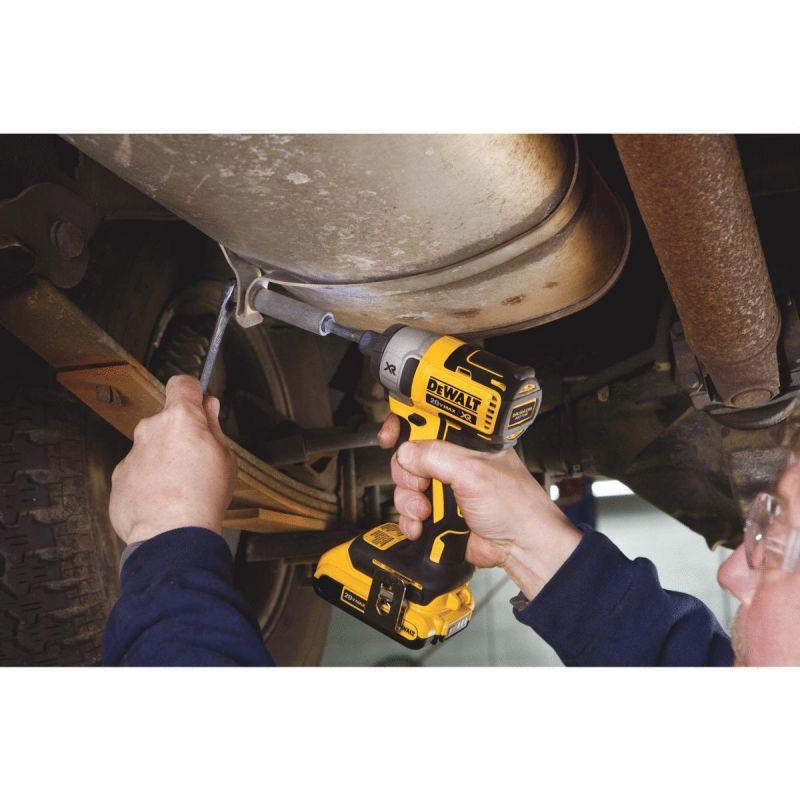 DeWalt 20V MAX XR Lithium-Ion Brushless Cordless Impact Driver Kit 1/4 In. Hex