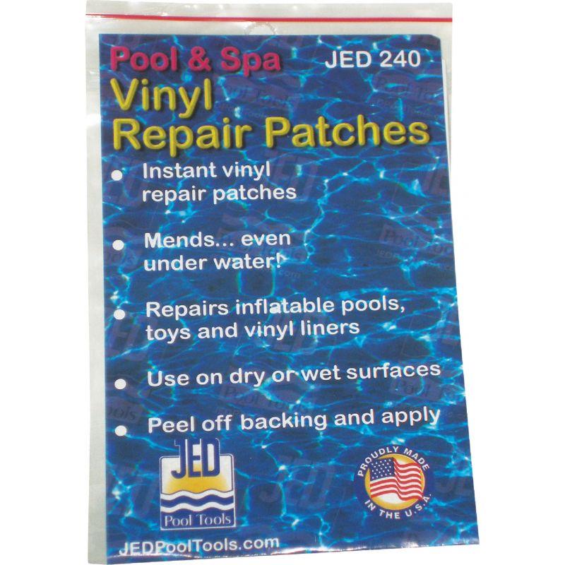 JED Pool Vinyl Peel N Patch Pool Repair Kit (6) 3-1/4 In. X 5 In. Patches