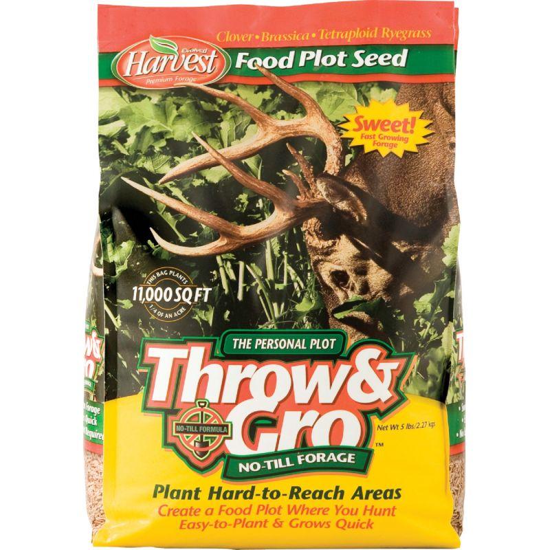 Throw & Gro No-Till Forage Food Plot Seed 5 Lb.