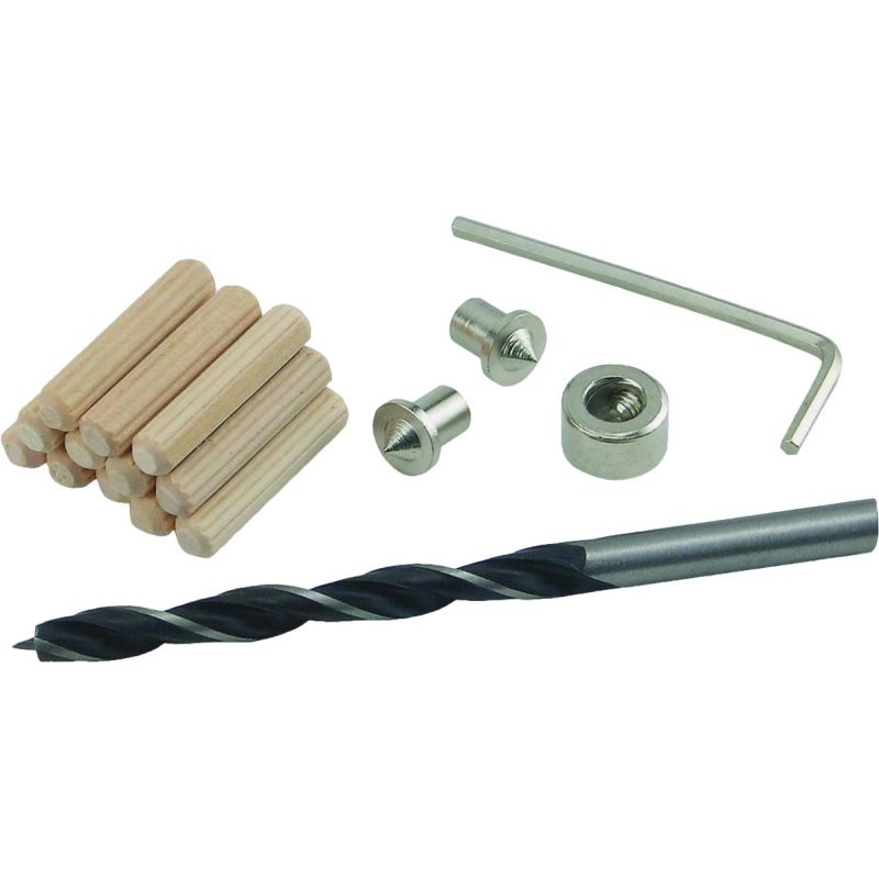 General Tools 1/4 In. Doweling Jig Accessory Kit
